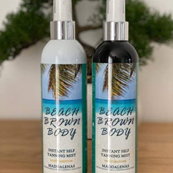 Beach Brown Body self tan mist.