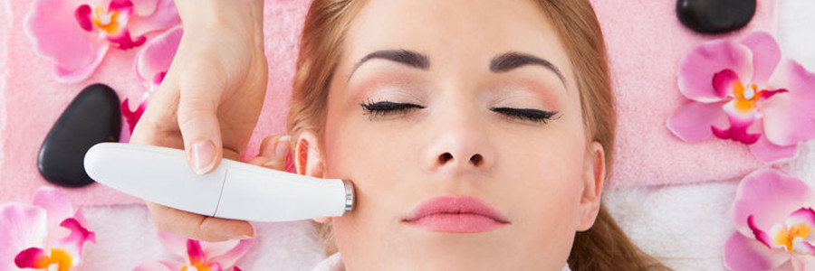 Diamond microdermabrasion.