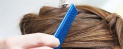 Hair pin-up.